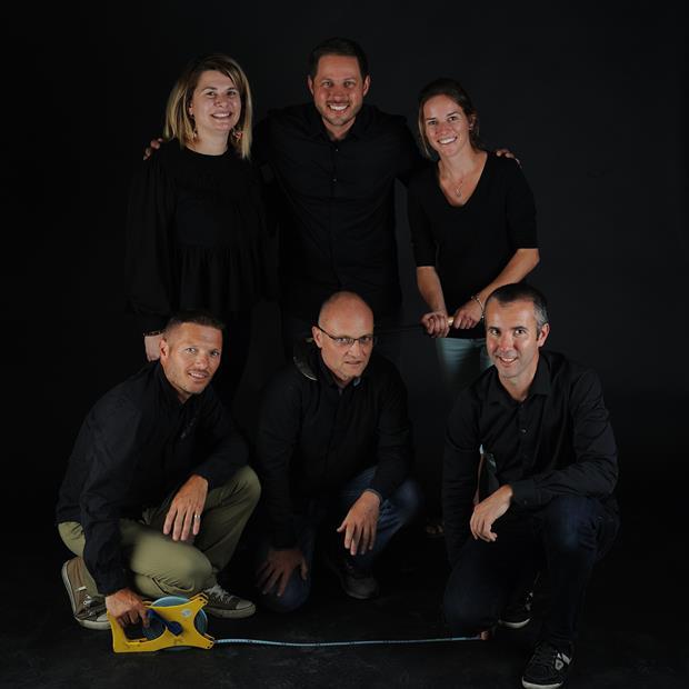 Séance photo de l'équipe
